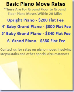 Baby & Grand Piano Movers Upright Piano Movers SF